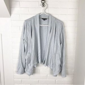 {Banana Republic} Grey Soft Terry Cloth Sweater